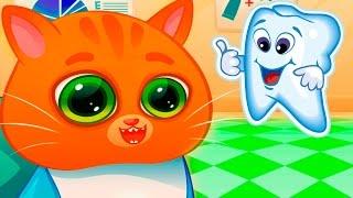 Котик BUBBU – Твой Виртуальный Котенок #4.Мультик игра для детей про котенка БУБУ.
