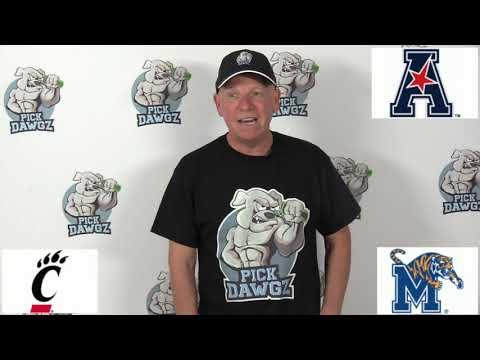 Memphis vs Cincinnati 12/7/19 Free College Football Pick and Prediction AAC Championship