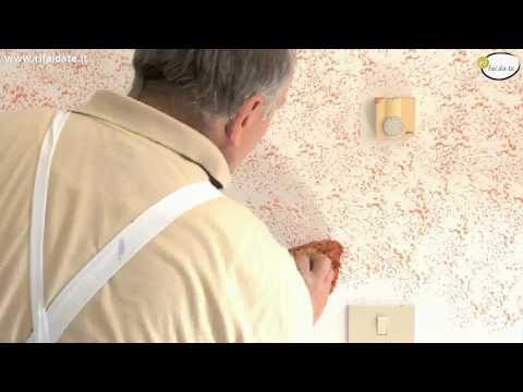 Pittura con effetto velato doovi for Effetto spugnato pareti foto