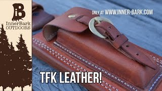 Handmade In The USA: Tahoma Field Knife Leather Sheaths