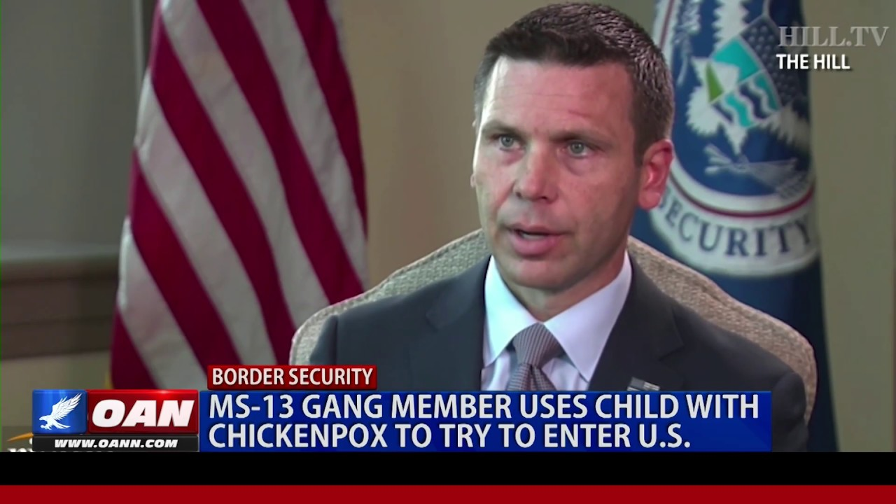 OAN  - MS-13 gang member uses child with chickenpox to try to enter U.S.