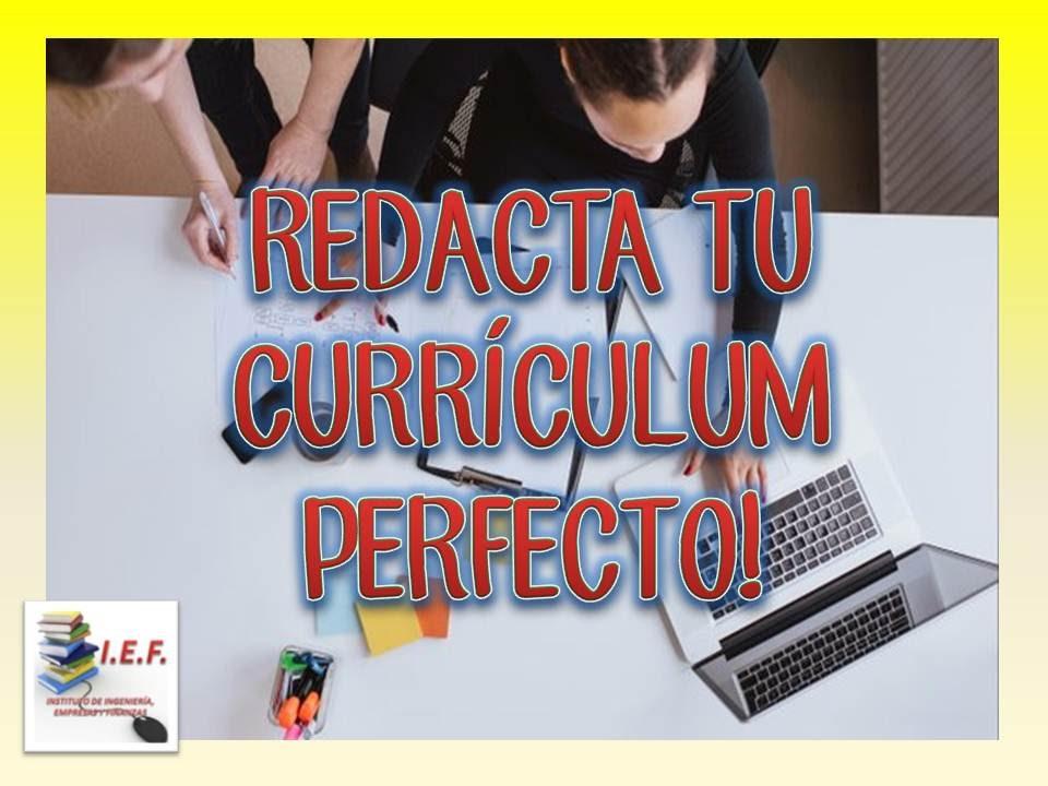 REDACTA TU CURRÍCULUM PERFECTO! - YouTube