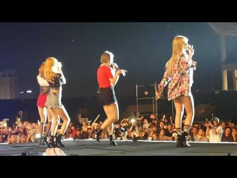 Exid- L.I.E, Hot Pink, Up&Down (day2) MBC Music Kplus concert in Hanoi