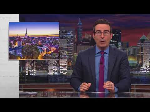 John Oliver Roasts Estonia Twice