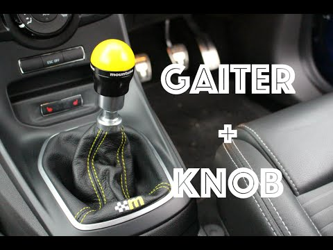 Mountune Leather Gaiter And Gear Knob Install Fiesta St