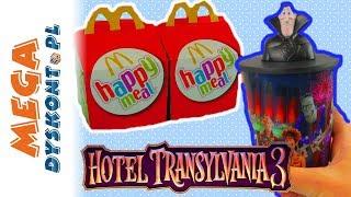 Hotel Transylwania 3 • McDonalds • Happy Meal • zabawki