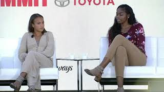 Mallory Pugh, Kenzie Kent, Charli Collier, Julie Foudy - Voices of the Future ESPNW