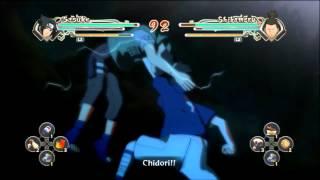 Naruto Generations Young Sasuke Chidori
