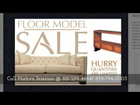 Solid Wood Furniture San Diego, Solana Beach, CA 92075, Call 858 794 0003  Now! Nativa Interiors