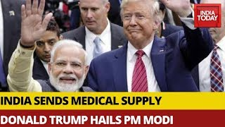 Gambar cover US President Trump Hails PM Modi In Interview With US News Channel | Watch
