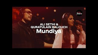 Mundiya Ali Sethi And Quratulain Baloch Coke Studio Season 12