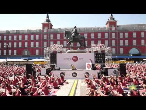 1h15 clase de yoga - Free Yoga by Oysho  Madrid 2015