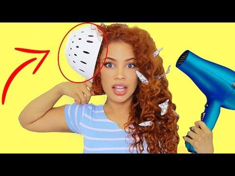 10 HAIR LIFE HACKS & DIY TIPS!