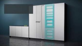 Siemens modularFit. Yhdistele jääkaappi ja pakastin, kuten haluat.