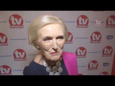 Mary Berry discusses new Bake Off with Prue Lieth, Noel Fielding and Sandi Toksvig