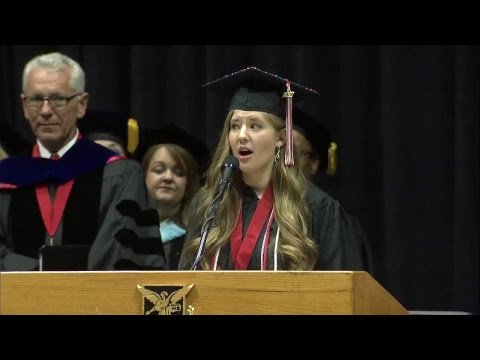 Ball State University Spring 2017 Commencement Main Ceremony