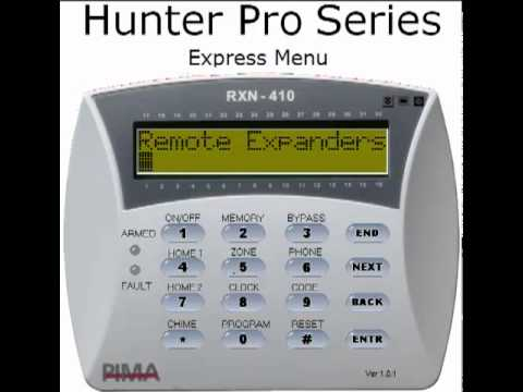 Pima Electronic System Hunter Pro Series Alarm Systems