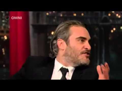 Joaquin Phoenix on David Letterman Full