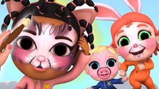 I Love Face Paint Song | Baby Joy Joy on Clap Clap Baby