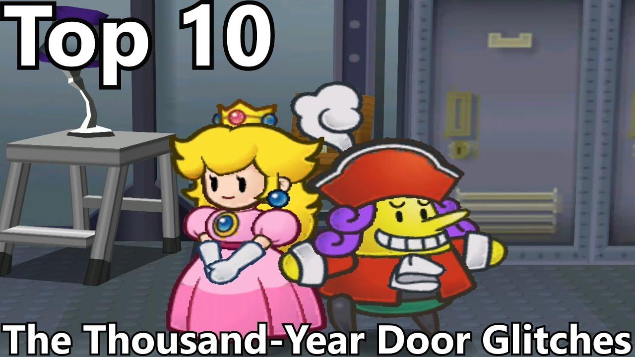 Top 10 glitches in paper mario the thousand year door for 1000 year door