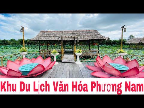 Khu Du Lịch Văn Hóa Phương Nam Rộng Đẹp Xuất Sắc Tại Đồng Tháp | Khương Nhựt Minh