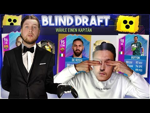 FIFA 18: Wer muss 1 TAG DIENER SEIN ?? Das gab es NOCH NIE bei einem BLIND DRAFT BATTLE !!