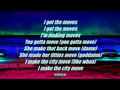 Big Sean - Moves (LYRICS)
