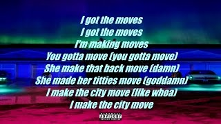 Video Big Sean - Moves (LYRICS) download MP3, 3GP, MP4, WEBM, AVI, FLV Juni 2018