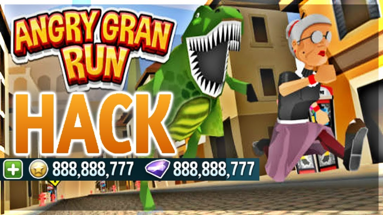 Angry Gran Run Hack [UNLIMITED COINS & GEMS] - YouTube