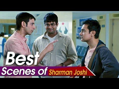 Best Scenes Of Sharman Joshi   3 Idiots   Aamir Khan, Boman Irani, R. Madhavan