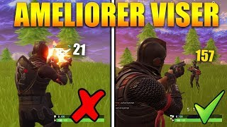 COMMENT AVOIR UN MEILLEUR SHOOT sur FORTNITE BATTLE ROYALE !