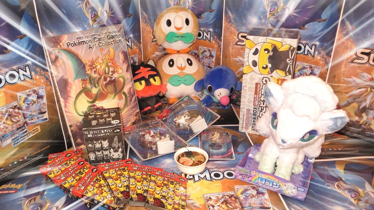 Pokemon Gifts From Japan Plushies Toys Cards More Youtube