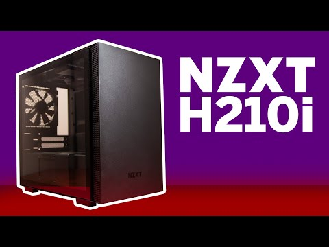 NZXT H210i Review - An ITX Case With More Airflow!
