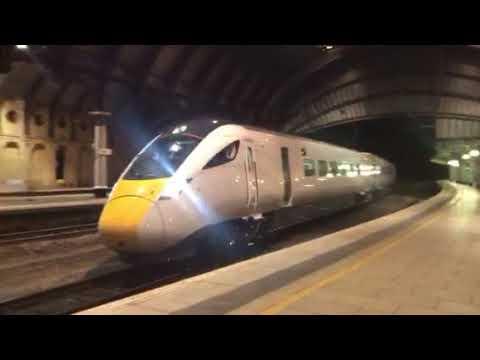 New 800028 through York on 5X80 Merchant Park to Doncaster Carr IEP Depot 27/10/17