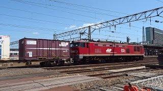 2019.05.19 貨物列車(4094列車)秋田駅到車