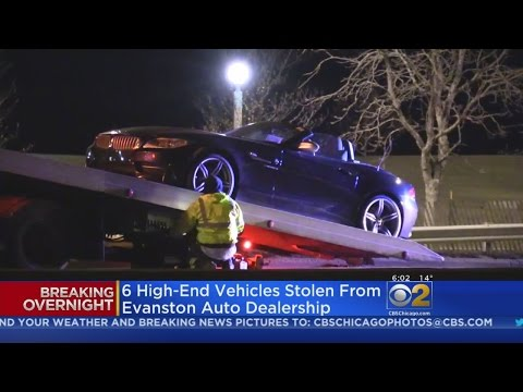 At Least 3 Luxury Cars Stolen From Evanston Dealership