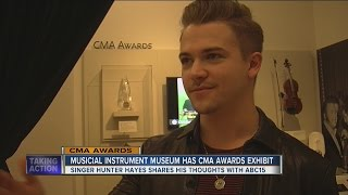 Hunter Hayes launches special CMA exhibit at Phoenix's Musical Instrument Museum