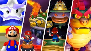 Evolution of Final Bosses in Mario Party Games (2000-2021)