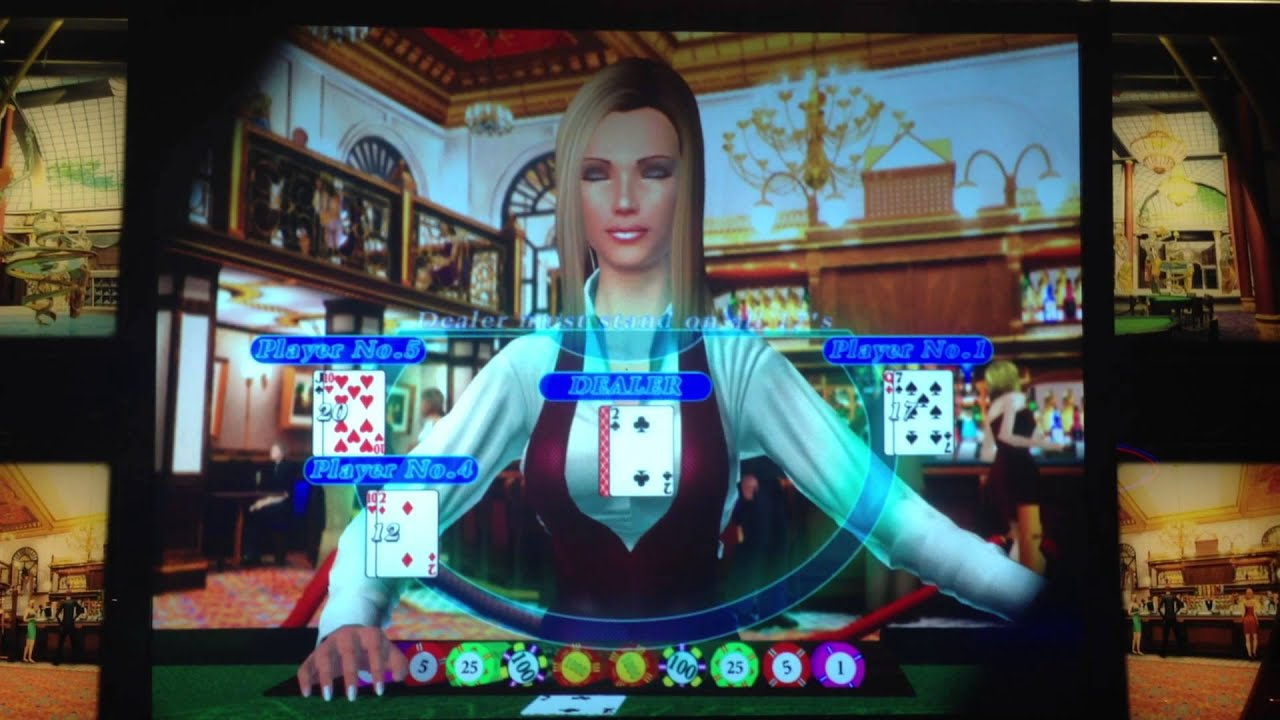 Video blackjack machines las vegas