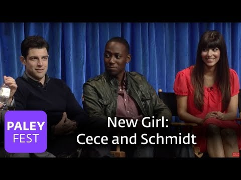 New Girl  Elizabeth Meriwether  Max Greenfield and Hannah Simone on Cece and Schmidt