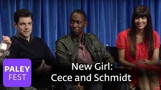 New Girl - Elizabeth Meriwether | Max Greenfield and Hannah Simone on Cece and Schmidt