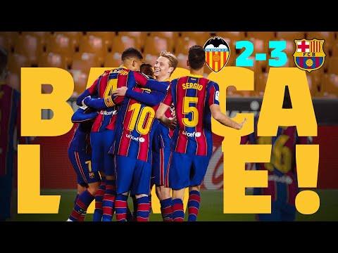 ⚽ BARÇA LIVE | VALENCIA - BARÇA from Mestalla | Warm up & Match Center