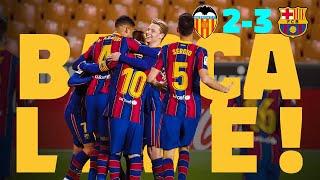 A SUFFERED VICTORY 😬 ⚽ BARÇA LIVE | VALENCIA 2 - BARÇA 3 from Mestalla | Warm up & Match Center screenshot 3