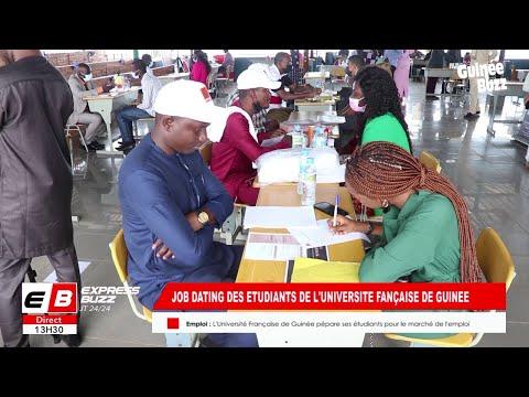 Succès du 1er JOB DATING des étudiants de l'Université Française de Guinée (UFG)