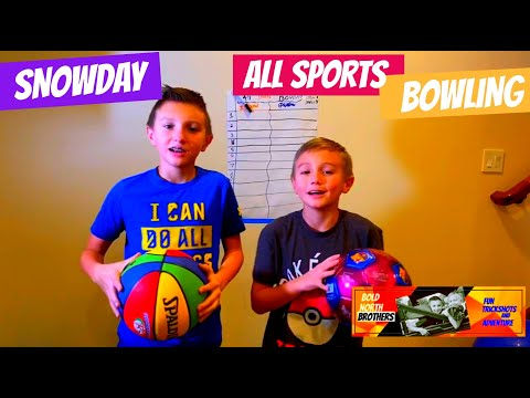 All Sports Bowling Battle – Snow Day Edition