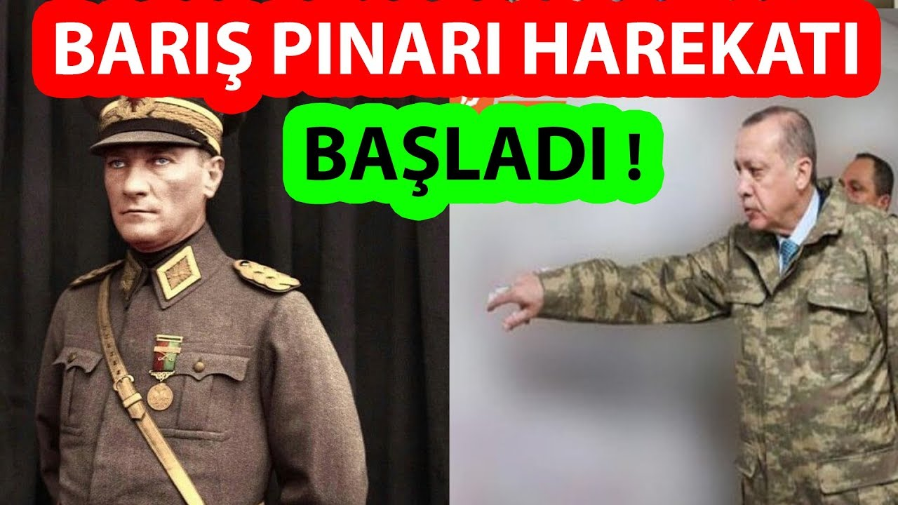 BARIŞ PINARI HAREKATI BAŞLADI (Son Dakika Fırat'ın Doğusuna Operasyon)