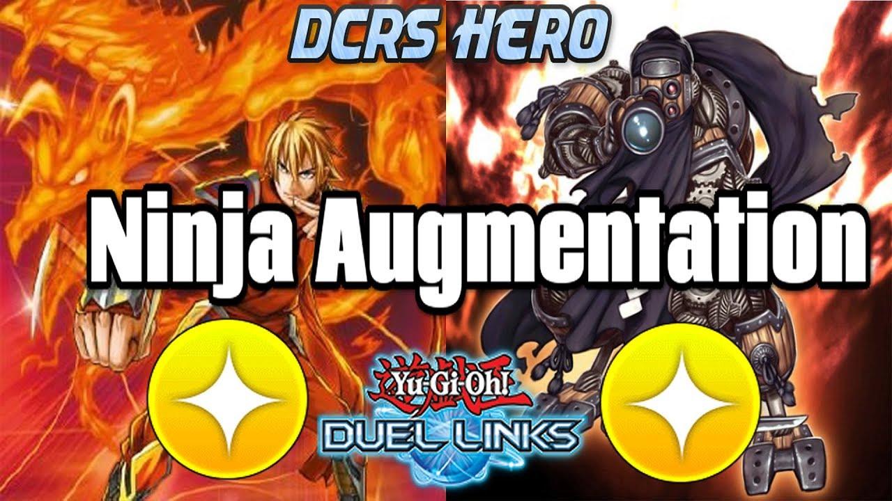 [DUEL LINKS] Ninja Augmentation - PVP Duels (Commentary) + Deck Profile
