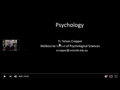 Webinar: Studying Psychology at The University of Melbourne