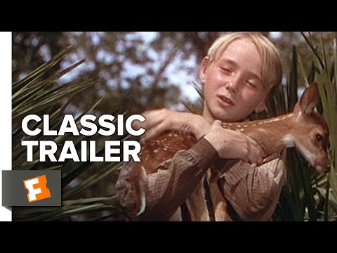 The Yearling (1946) Official Trailer - Gregory Peck, Jane Wyman Drama Movie HD