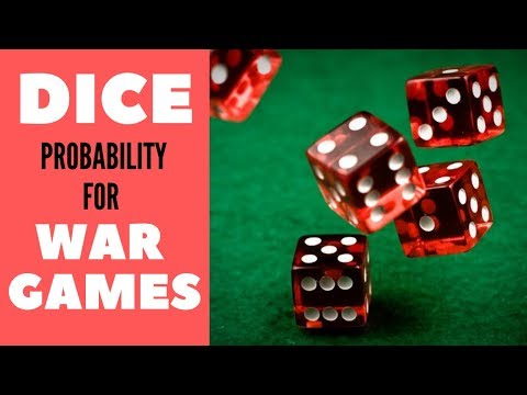 Dice Probability for Wargames